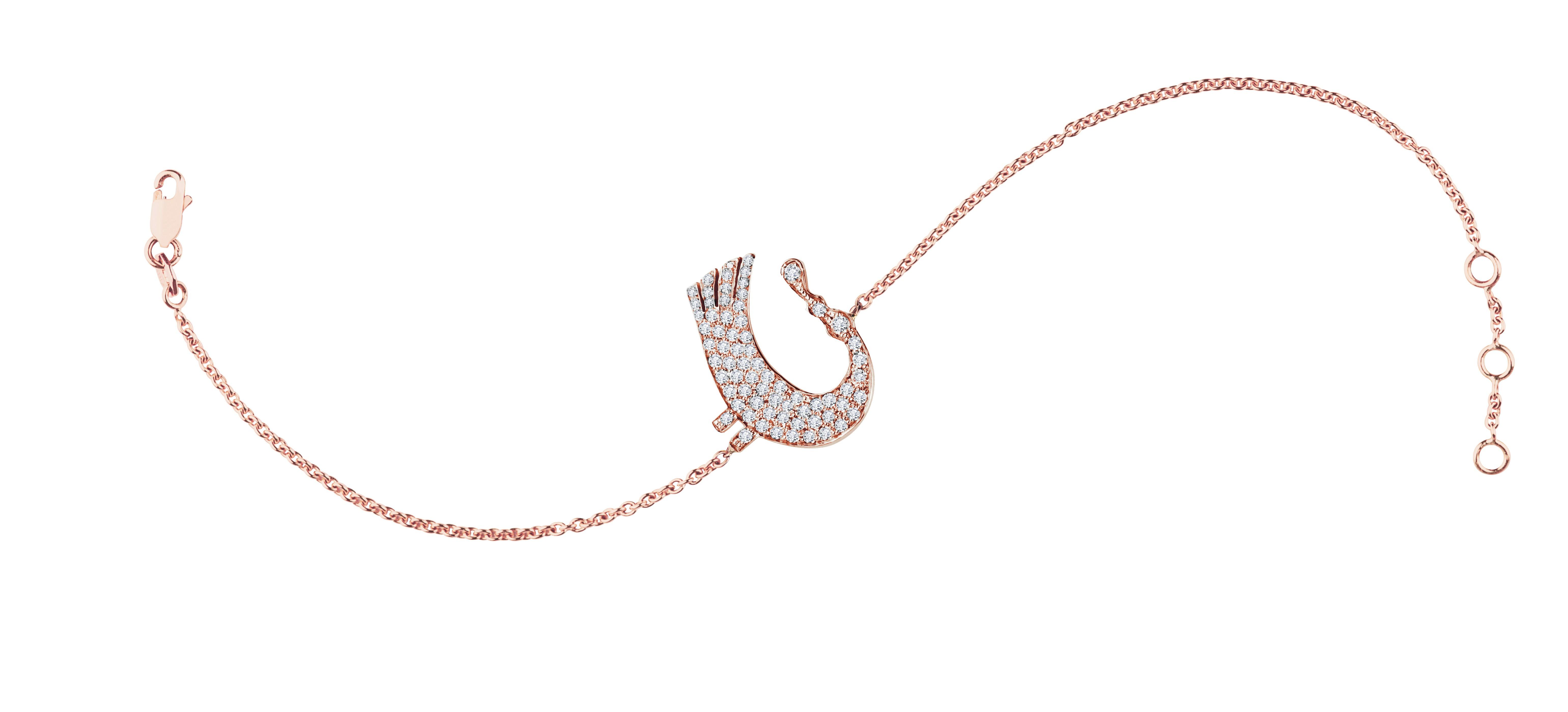 Sagesse Bakwani7 Or diamants – Bracelet