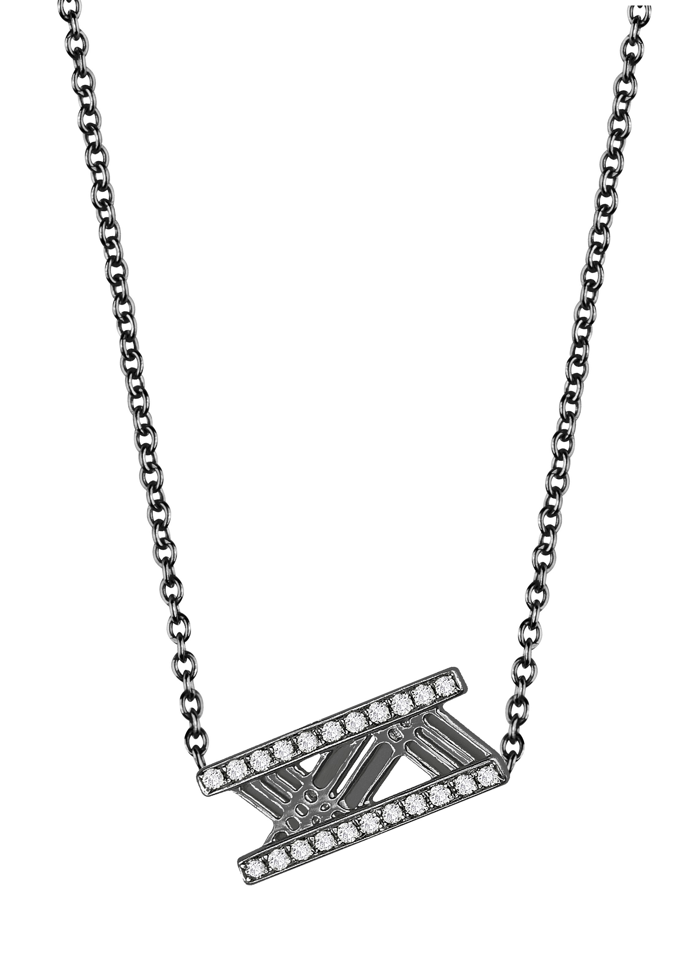 Discrétion Bakwani7 Or diamants – Collier