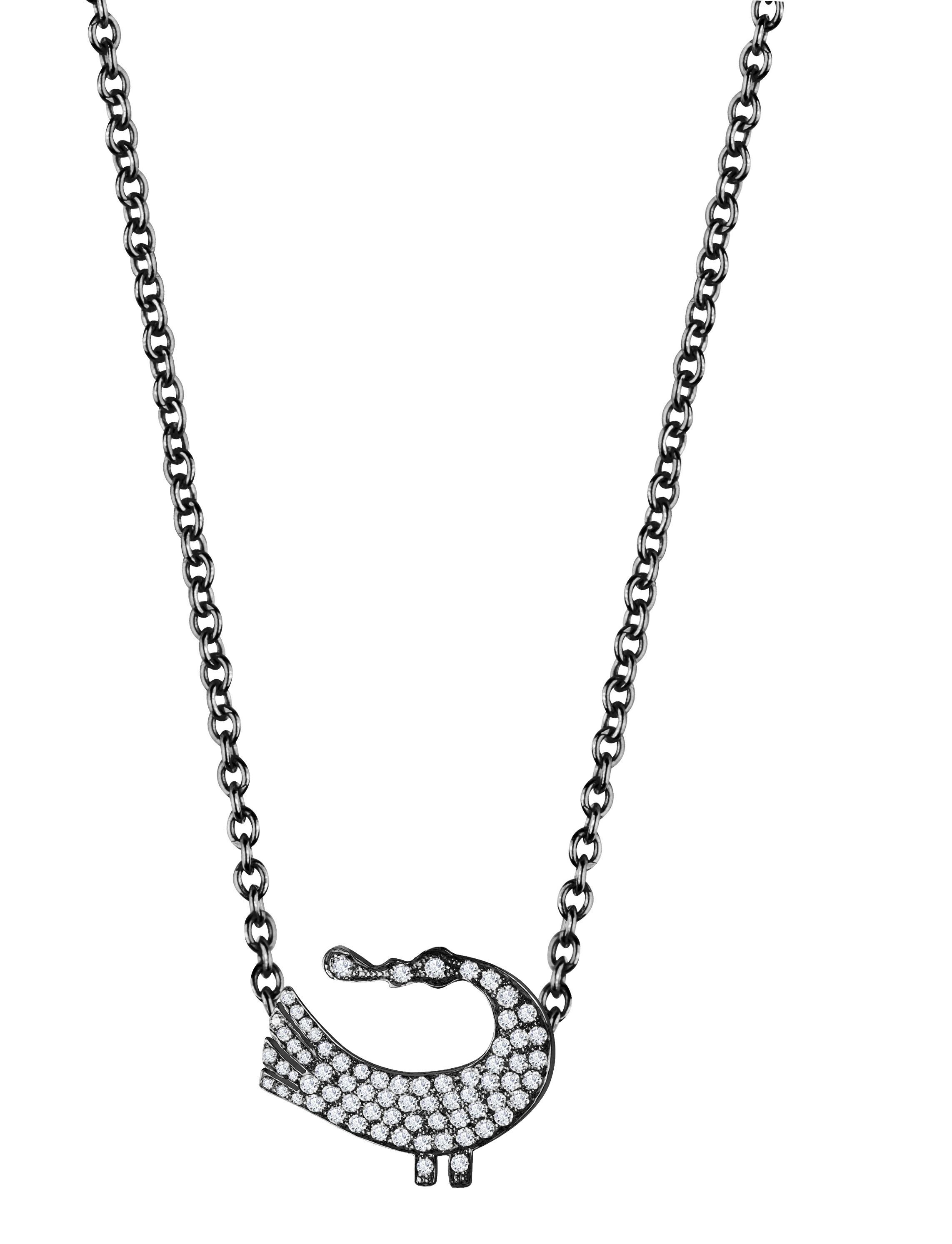 Sagesse Bakwani7 Or diamants – Collier