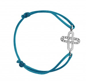 Honnêteté Bakwani7 Or diamants – Bracelet Cordon