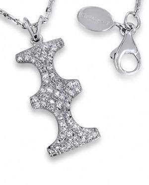 Personnalité Bakwani7 Or diamants – Pendentif