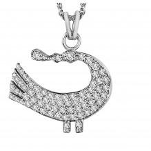Sagesse Bakwani7 Or diamants - Pendentif